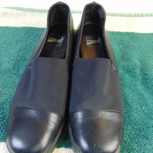 Womens Whats What Size 7 1/2 Leather/Fabric Shoe